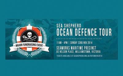 sea shepherd major fund raising event poster