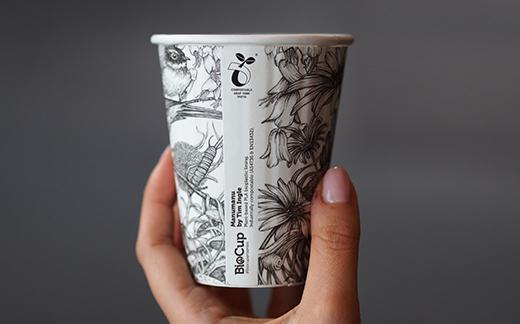 BioPak compostable cups