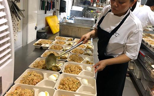 World Gourmet Summit Prepares Free Food Deliveries