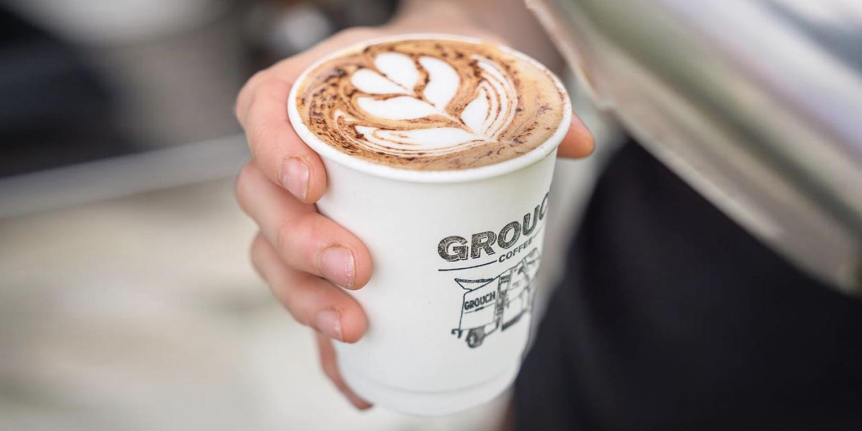 Grouch Coffee is an eco champion