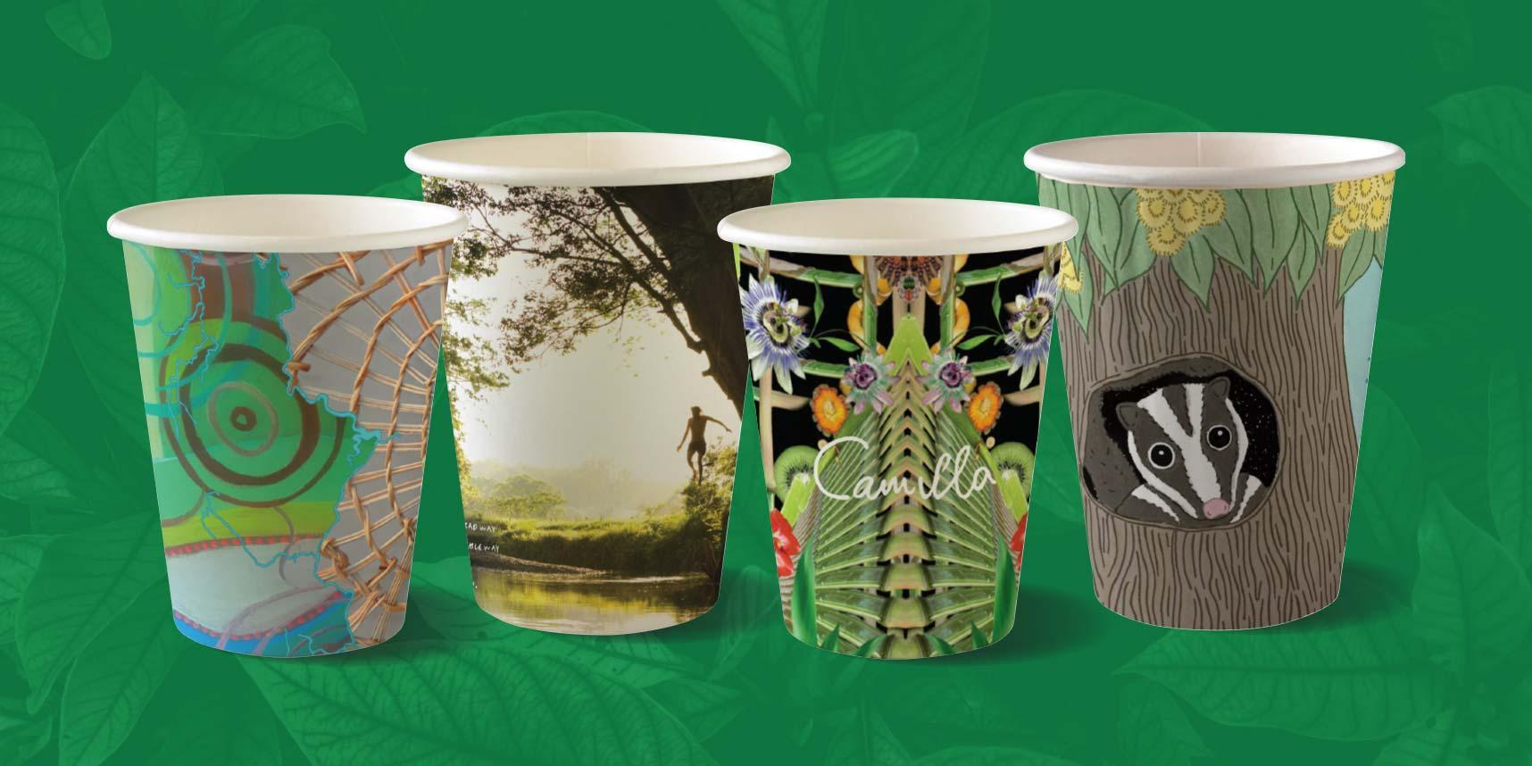 Rainforest rescue cups