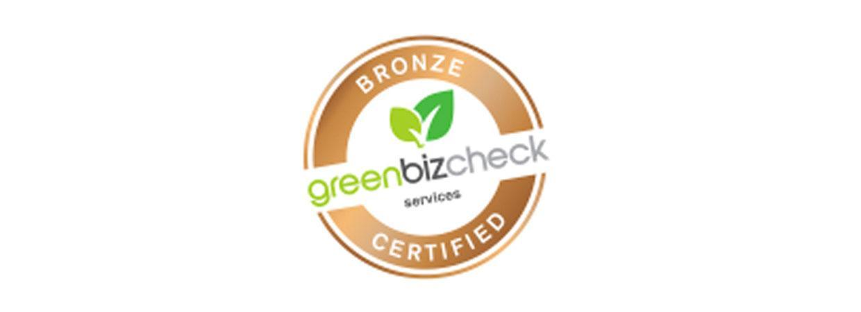 BioPak achieves environmental certification from GreenBizCheck's Bronze
