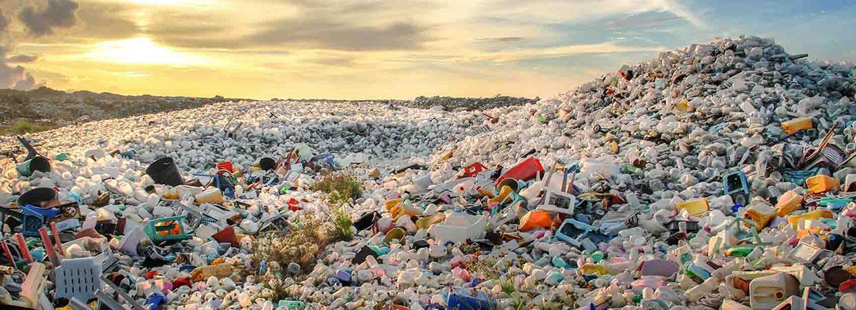 Giant pile of plastic