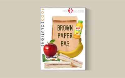 School lunch takeaway food pack