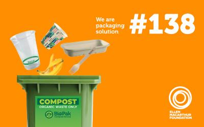 Compost Bin with Products