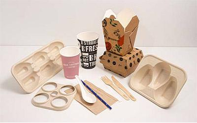 Sugarcane-packaging-products-on-a-table