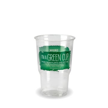 """Half Pint """"I 'm a Green Cup"""" PLA Tumblers   CE Marked"""