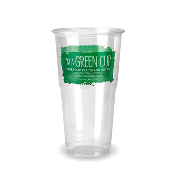"""Pint """"I'm a Green Cup"""" PLA Tumblers   CE Marked"""