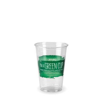 "7oz ""I'm a Green Cup"" PLA Tumblers"