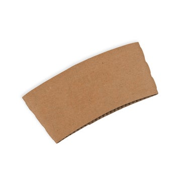Small Kraft Coffee Cup Sleeves to Fit 6/8oz Coffee Cups