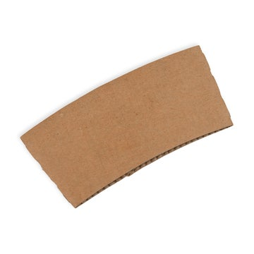 Large Kraft Coffee Cup Sleeves to Fit 12/16oz Coffee Cups