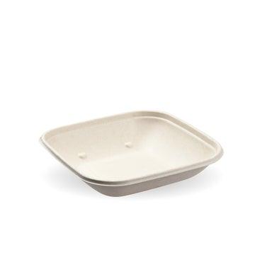 500ml BioCane Natural Pac Square Bowls - 300pack