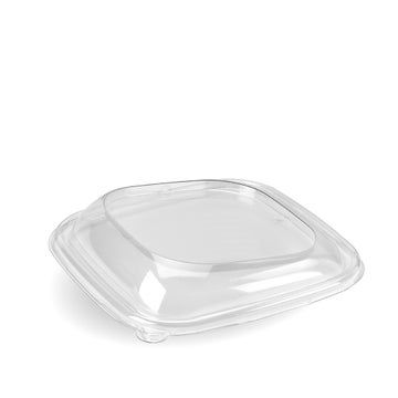 Square RPET lids to fit High to Low bowl