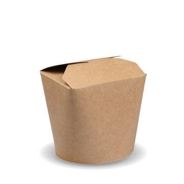 500ml PLA-Lined Kraft Noodle Boxes