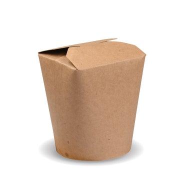 750ml PLA-Lined Kraft Noodle Boxes