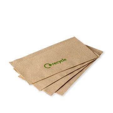 32cm 1-Ply Kraft Paper Napkins