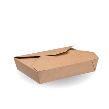 1,100ml Kraft #2 Hot Food Boxes