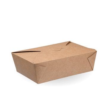 1,500ml Kraft #3 Hot Food Boxes