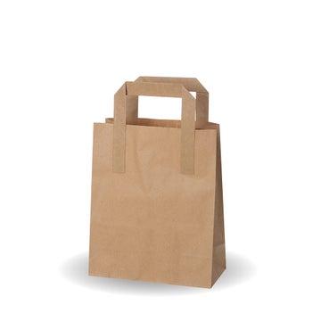 """7x9x3.5"""" Small Kraft SOS Bags"""