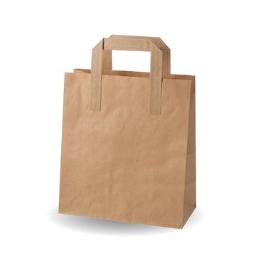 "8.5x10x4.5"" Medium Kraft SOS Bags"