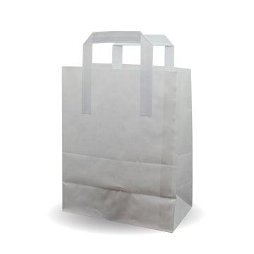 "8.5x10x4.5"" Medium White SOS Bags"