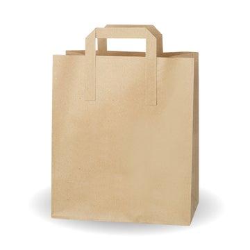 "9.5x12x5.5"" Large Kraft SOS Bags"