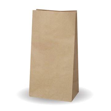 """6.8x13.5x4.5"""" Kraft No Handle SOS Bags"""
