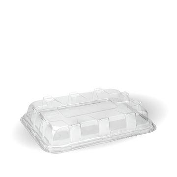 PET Lids to Fit Medium Fibre Platter Trays