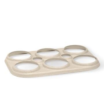 6-Pack BioCane Beer Ring Holder