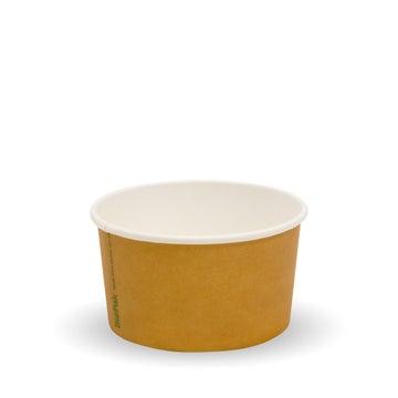 90ml/3oz Kraft PLA-Lined Ice Cream BioCups | FSC™ Certified