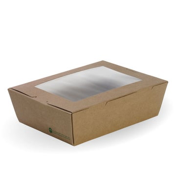 Large BioBoard Lunch Box With Window