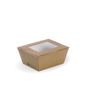 Small BioBoard Lunch Box With Window