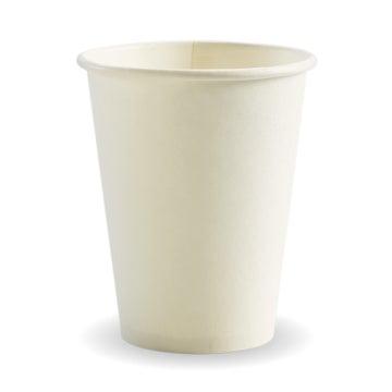 12oz White BioCup