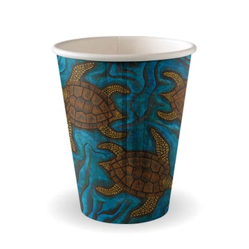 8oz Double Wall Indigenous BioCup