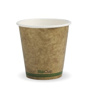 6oz Green Stripe BioCup