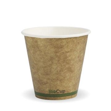 8oz (90mm) Green Stripe BioCup