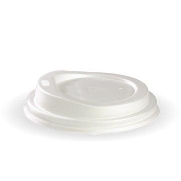 6-12oz (80mm DIA )PLA White Small Lid