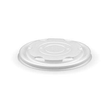 8oz PLA White Flat Lid