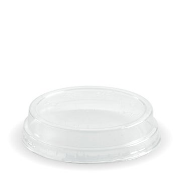 60 - 280 Clear Dome No Hole Lid