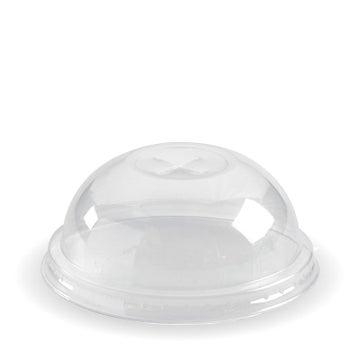 60 - 280ml Clear Dome X-slot Lid