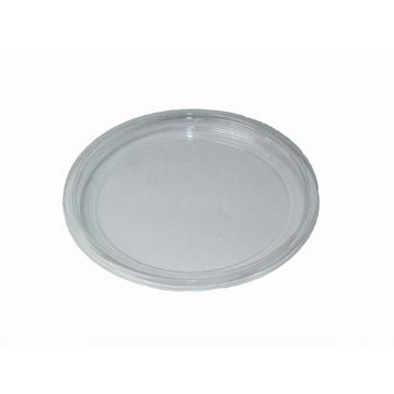 CF DC-120F Outside Fitting DeliPLA Flat Lid (500 per box)
