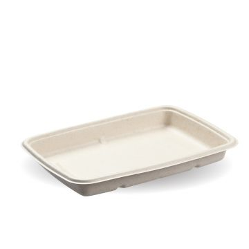 600ml Natural Pac Rectangular Trays