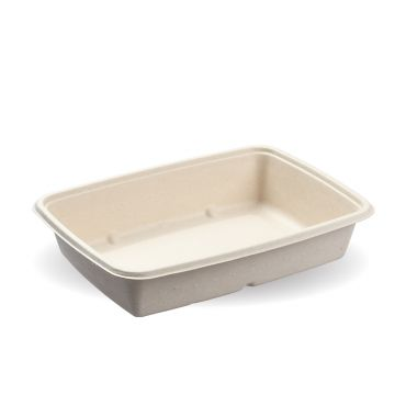 950ml Natural Pac Rectangular Trays