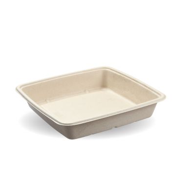 1400ml Natural Pac Square Trays