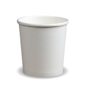 32oz White PE Soup Container