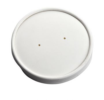 PLA Lid for 12oz White Soup Container