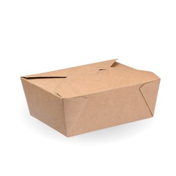 #4 Kraft Hot Food Box - 180/carton