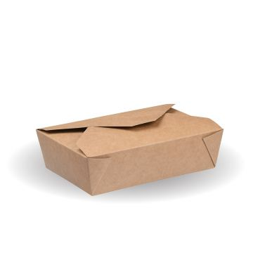 #2c Kraft Hot Food Box