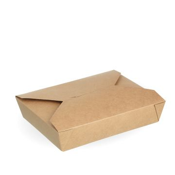 #2b Kraft Hot Food Box
