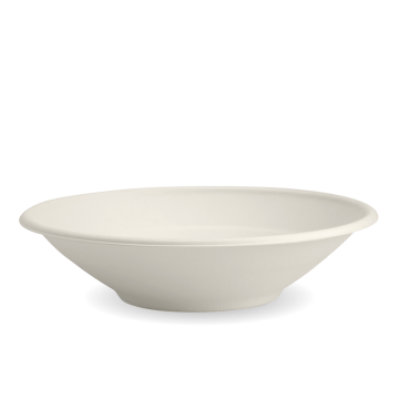 800ml / 24oz White BioCane Bowl